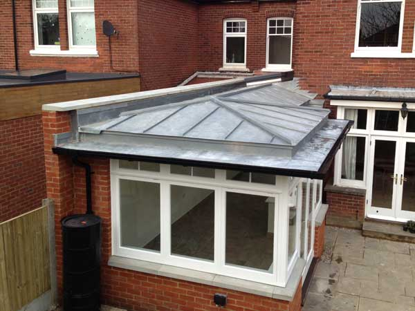 Zinc Cladding To Canterbury Extension Metal Roof Ltd