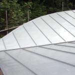 Modern roof for new-build in Kingston, Sussex