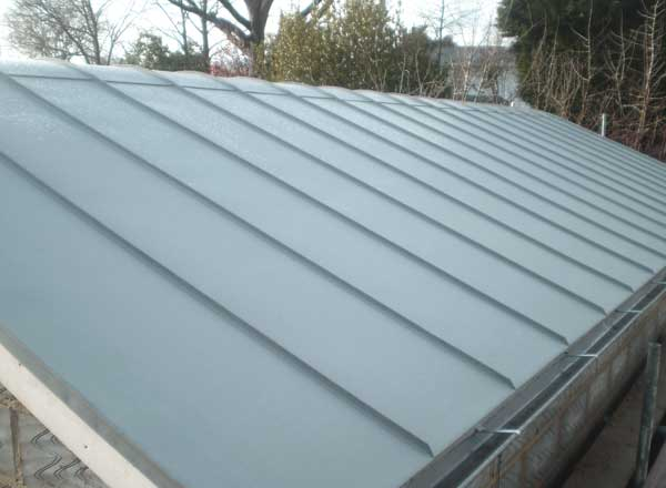 Rounded Ridge Zinc Roof In Lindfield Sussex Metal Roof Ltd