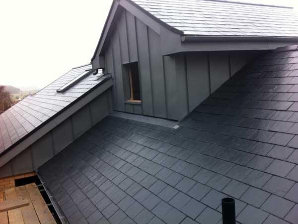Seaside Location For Zinc Roofing And Cladding Near