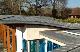 Zinc eaves cladding in Orpington, Kent