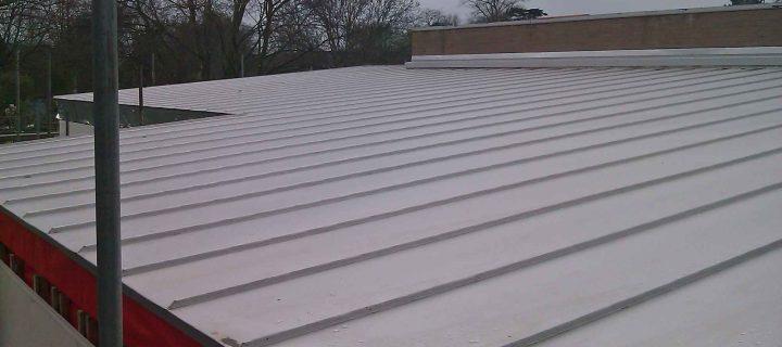 Rheinzinc cladding to a Brighton, Sussex roof extension