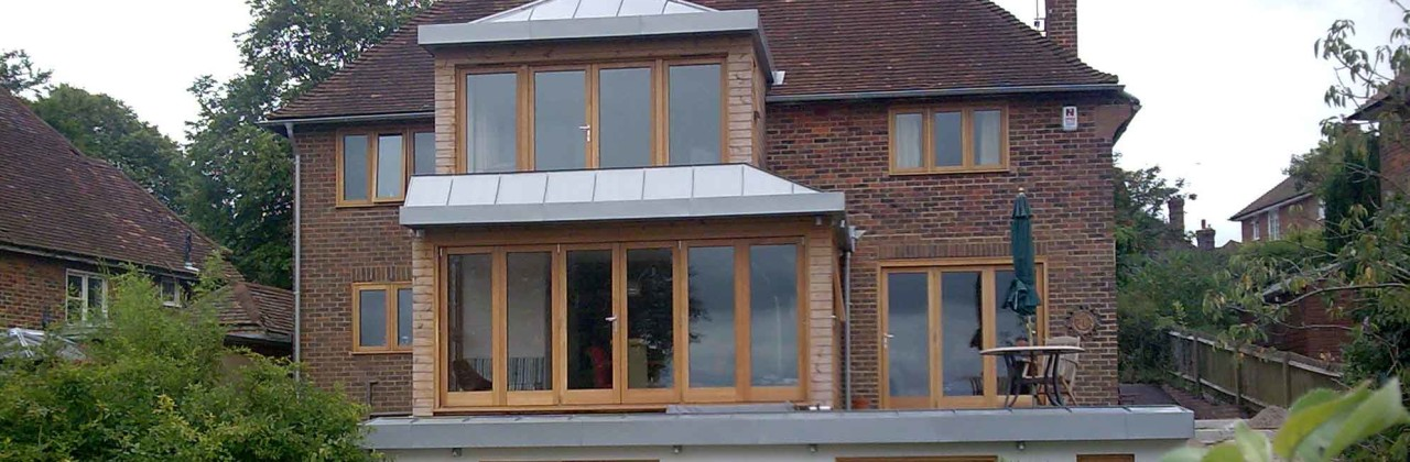 Zinc roofing, facades and guttering in Lewes, Sussex