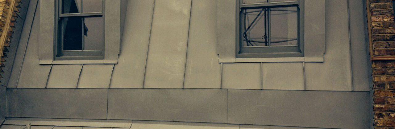 Zinc double-storey extension in Battersea