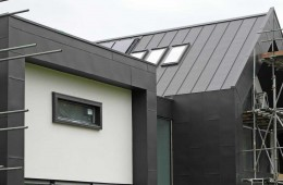 Large VM Anthra zinc-clad Canterbury house