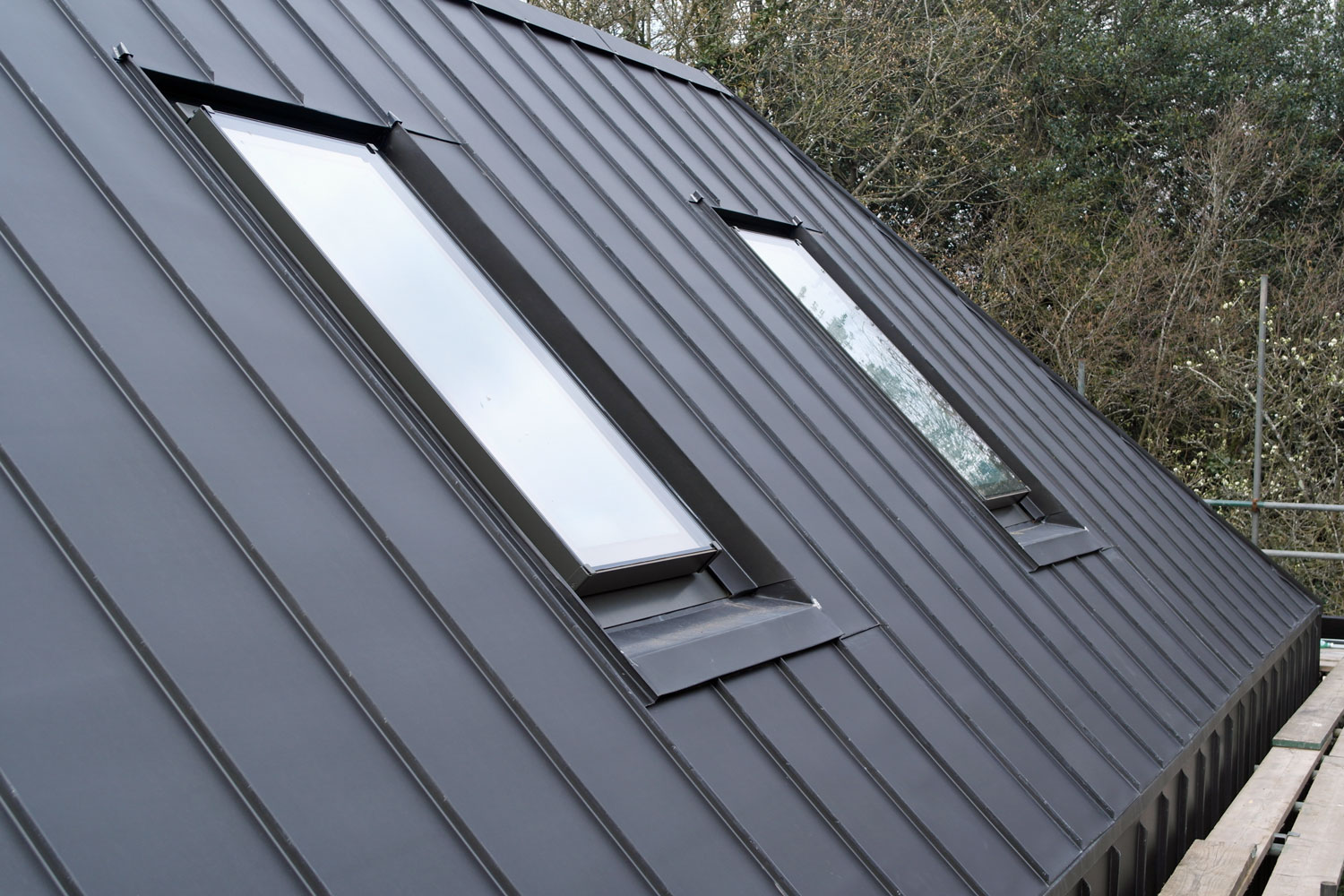 Zinc Clad New Built Barn House In Hurstpierpoint Sussex