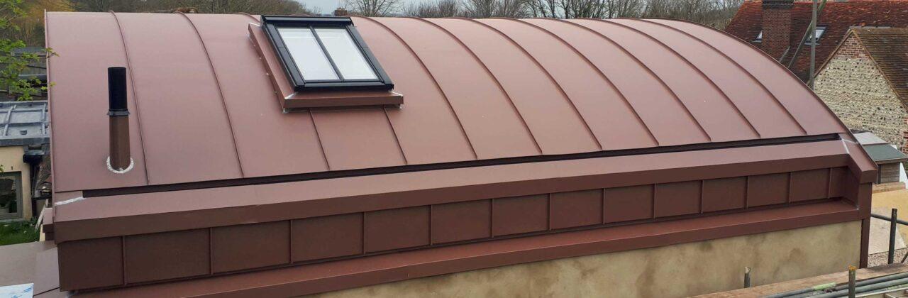 Alfriston barrel roof – VM Pigmento Red