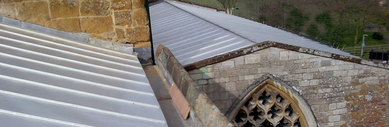 Stainless steel standing seam church roof metal roof ltd for Standing seam copper