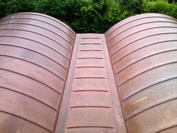 Curved Barrel Vaulted Copper Roofs For Barn Metal Roof Ltd