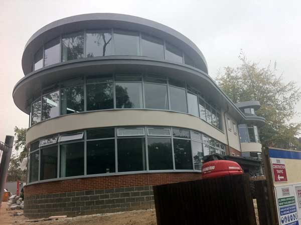 Round Zinc Roofs For London School Metal Roof Ltd