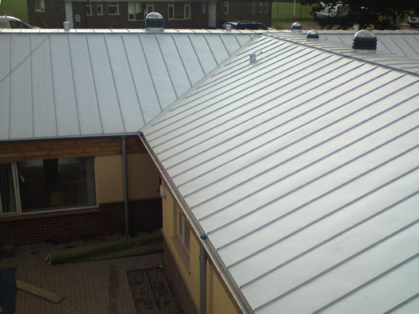 Lindab Aluzinc Standing Seam Roofing For Sussex Gps
