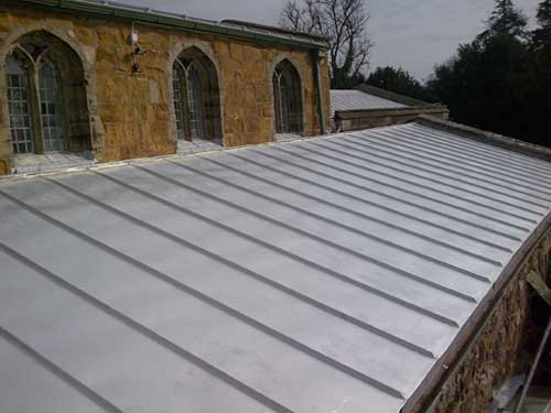 Stainless Steel Standing Seam Church Roof Metal Roof Ltd