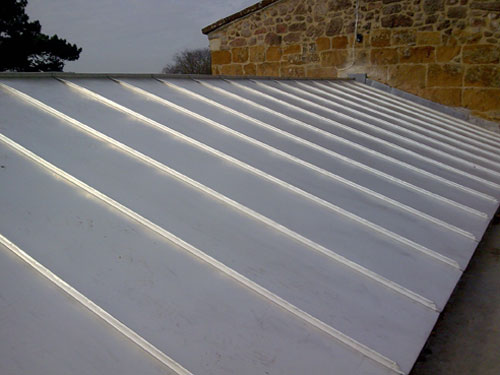 Superior Stainless Steel Standing Seam Church Roof