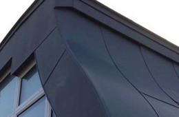 Ornamental zinc dormers in Southwark