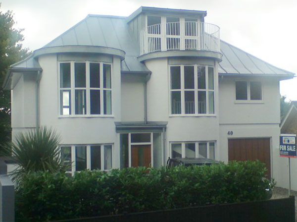 Zinc Standing Seam Roof For Brighton House Metal Roof Ltd