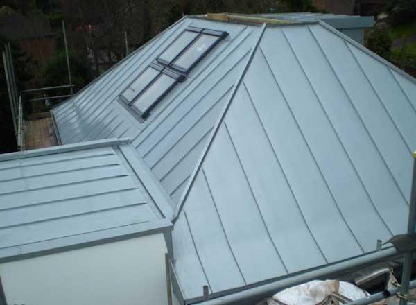 Zinc Standing Seam Roof For Brighton House Metal Roof Ltd