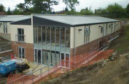 Large Corus Falzink roof for Kent nursing home