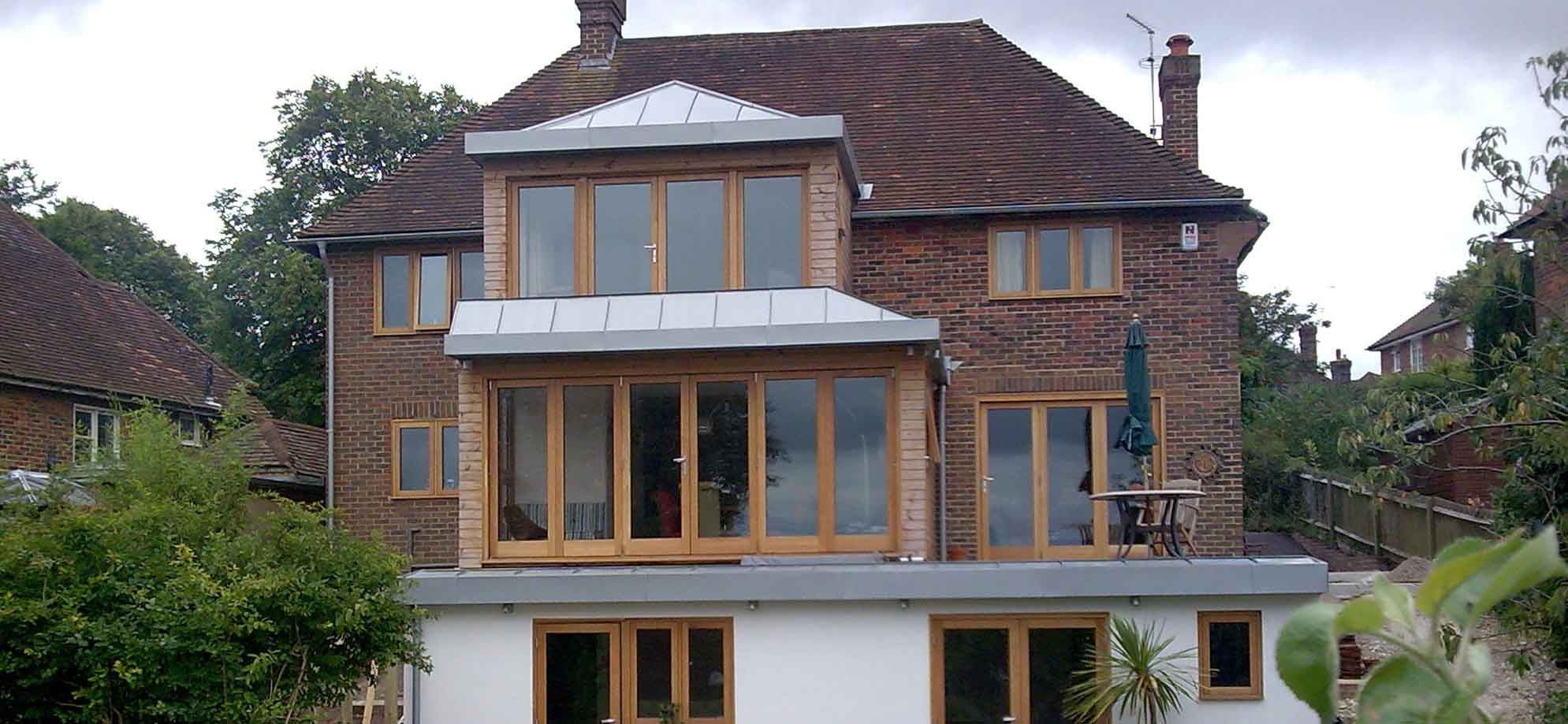 Zinc Roofing Facades And Guttering In Lewes Sussex