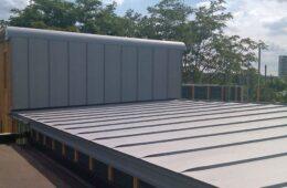 Falzinc roofs for Southwark apartment block