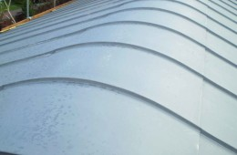 Rounded ridge zinc roof in Lindfield, Sussex