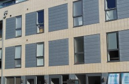 Zinc cladding on Brighton, Sussex apartment block