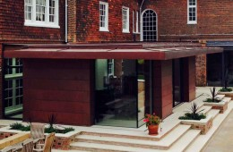 Copper batten roll roofing in Sussex