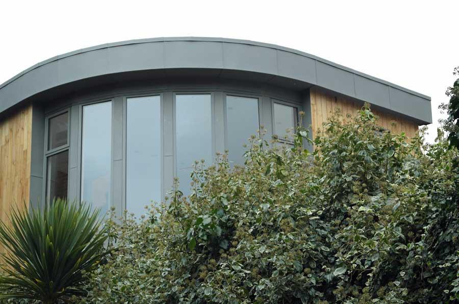 Zinc Feature Window In Lewes East Sussex Metal Roof Ltd