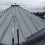 Polygon zinc roof in Lewes