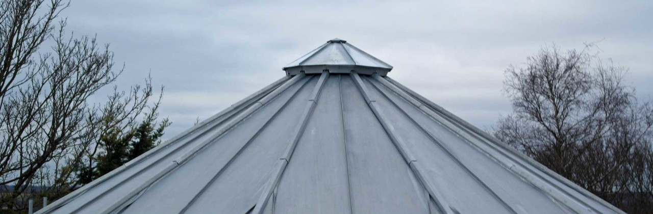 Polygon zinc roof in Lewes, Sussex