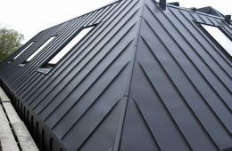 Zinc-clad new built barn house in Hurstpierpoint, Sussex
