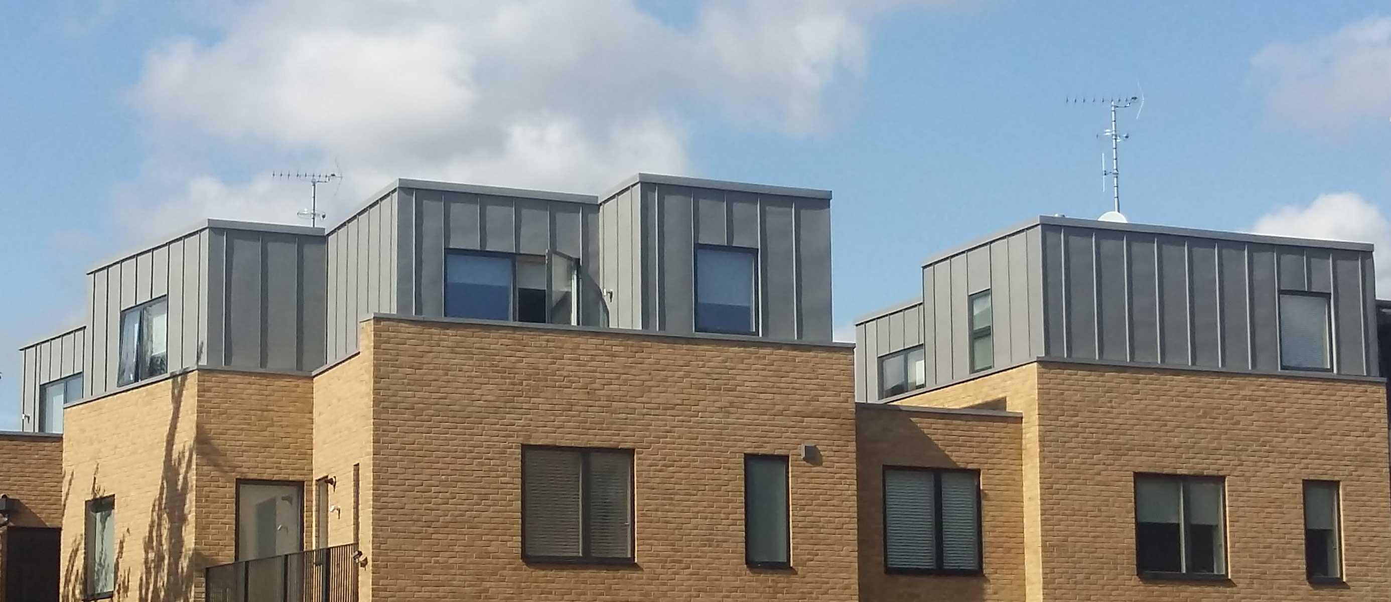 Zinc Cladding At Dane Place Metal Roof Ltd